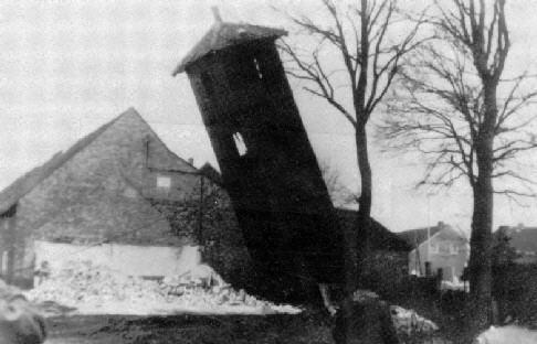 Abriss des Schlauchturms